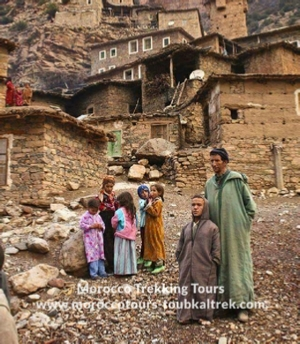 Berber villages hike Morocco